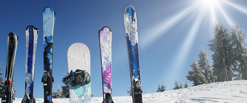 Skilift in  Grainet Bayerischer Wald