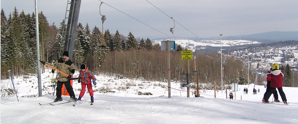 Skilift in Freyung / Solla, Bayerischer Wald